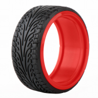 Speedway Slide ZR Raptor Drift tyre with insert wheel 26mm (4pcs)