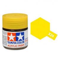 Tamiya Лак акриловый Clear Yellow X-24 (10мл.)