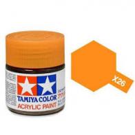 Tamiya Лак акриловый Clear Orange X-26 (10мл.)