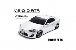 MST MS-01D 1:10 Scale 4WD RTR Electric Drift Car (2.4G) (brushless) TOYOTA FT-86 (white)