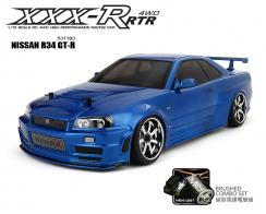 MST XXX-R RTR 1:10 Scale RC 4WD Racing Car (2.4G) NISSAN R34 GT-R
