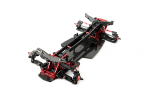 MST RRX-D VIP Ultra Rear Motor 1:10 Scale 2 WD Electric Drift Car Chassis ARR KIT (Red)