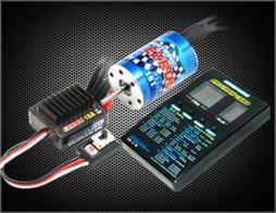 Hobbywing Бессенсорная бесколлекторная система Ezrun COMBO A1 18A & 12T для масштаба 1:18