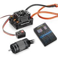 Hobbywing Бесколлекторная система Ezrun COMBO MAX8 TRX PLUG для моделей масштаба 1:8