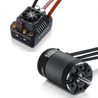Hobbywing Бессенсорная бесколлекторная система Ezrun COMBO MAX10 SCT 3660SL 4000KV для масштаба 1:10