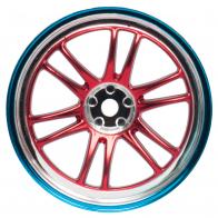 Speedway Slide Комплект дисков (4шт.), 12 спиц, красные