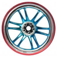 Speedway Slide Комплект дисков (4шт.), 12 спиц, сине-красные