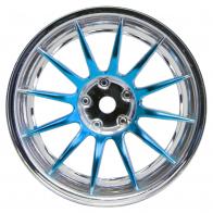 Speedway Slide Комплект дисков (4шт.), 12 спиц, синие
