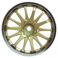 Speedway Slide Комплект дисков (4шт.), 14 спиц, золото