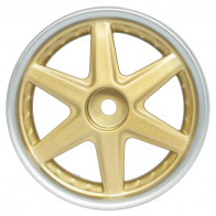Speedway Slide Комплект дисков (4шт.), 6 спиц, хром+золото