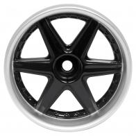 Speedway Slide Комплект дисков (4шт.), 6 спиц, черные с хромом