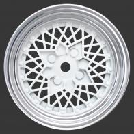 Speedway Slide Комплект дисков (4шт.), вылет 3мм, хром с белым