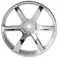Speedway Slide Комплект дисков (4шт.), YOKOHAMA AVS MODEL T6, 6 спиц, вылет 3мм, хром