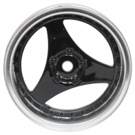Speedway Slide Комплект дисков (4шт.), 3 спиц, черные с хромом