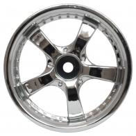 Speedway Slide Комплект дисков (4шт.), 5 спиц, хром
