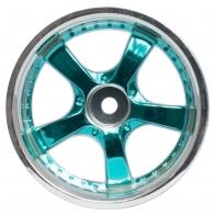 Speedway Slide Комплект дисков (4шт.), 5 спиц, синие