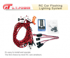 G.T. Power RC Car Flashing Lighting System