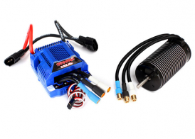 TRAXXAS запчасти Velineon® VXL-6s Brushless Power System, waterproof (includes VXL-6s ESC and 2200Kv, 75mm motor)