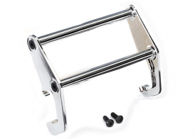 TRAXXAS запчасти Push bar, bumper (chrome) (fits #8069 bumper)