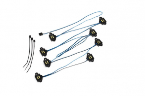 TRAXXAS запчасти LED rock light kit, TRX-4® (requires #8028 power supply and #8018, #8072, or #8080 inner fenders)