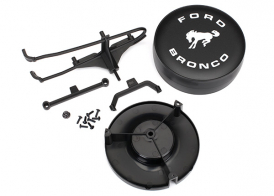 TRAXXAS запчасти Spare tire mount: mounting bracket: spare tire cover: mounting hardware