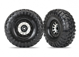 TRAXXAS запчасти Tires and wheels, assembled