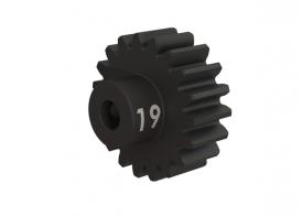 TRAXXAS запчасти Gear, 19-T pinion (32-p), heavy duty (machined, hardened steel): set screw