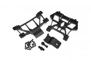 TRAXXAS запчасти Body mounts, front & rear