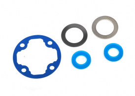 TRAXXAS запчасти Differential gasket: x-rings (2): 12.2x18x0.5 metal washer (1): 12.2x18x0.5 PTFE-coated washer (1)