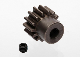TRAXXAS запчасти Gear, 14-T pinion (1.0 metric pitch) (fits 5mm shaft): set screw (compatible with steel spur gears)