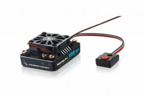 Hobbywing Бесколлекторный сенсорный регулятор XERUN XR8 SCT Black Edition для автомоделей масштаба 1:10:1:8