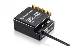 Hobbywing Бесколлекторный сенсорный регулятор  XeRun XR10 PRO 1S Black 120A для автомоделей масштаба 1:10 чёрн