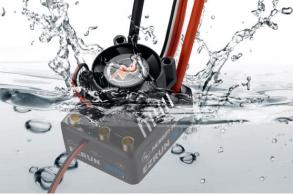 Hobbywing Бесколлекторный влагозащищённый регулятор EzRun MAX10 для масштаба 1:10