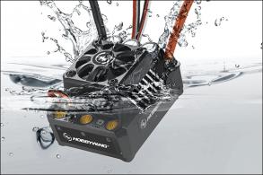 Hobbywing Бесколлекторный бессенсорный регулятор EZRUN MAX6 для шот-корс, багги, touring car, масштаба 1:8 1:6