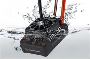Hobbywing Бесколлекторный бессенсорный влагозащищенный регулятор Ezrun WP MAX5 V3 для шот-корс, багги, монстро