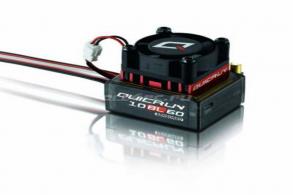 Hobbywing Бесколлекторный сенсорный регулятор QuicRun-10BL60 для автомоделей масштаба 1:10 красный