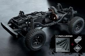 MST Трофи модель CMX от MST (Max Speed Technology) 1:10 4WD набор для сборки KIT 267mm с мотором и регул