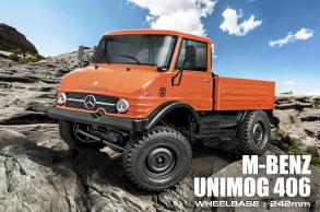MST Трофи модель CFX от MST (Max Speed Technology) 1:10 4WD набор для сборки с кузовом M-BENZ Unimog 406