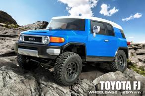 MST Трофи модель CFX от MST (Max Speed Technology) 1:10 4WD набор для сборки с кузовом TOYOTA FJ