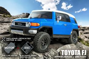 MST Трофи модель CFX от MST (Max Speed Technology) 1:10 4WD набор для сборки с кузовом TOYOTA FJ, регуля