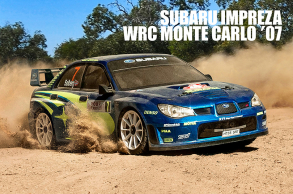 MST XXX 1:10 RC 4WD RTR Rally Car (2.4G) SUBARU IMPREZA WRC Monte Carlo 2007