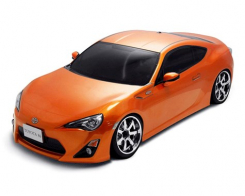 MST MS-01D 1:10 Scale 4WD RTR Electric Drift Car (2.4G) (brushless) TOYOTA FT-86 (orange)