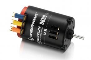 Hobbywing Бесколлекторный сенсорный мотор QuicRun 17.5T:3650 G2 для шоссейных и дрифтовых моделей масштаба 1:1