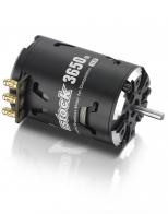 Hobbywing Бесколлекторный сенсорный мотор Justock 3650SD 17.5T BLACK G2 для шоссейных и дрифтовых моделей масш