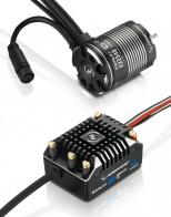 Hobbywing Бесколлекторная сенсорная система Xerun COMBO AXE 540 1800KV FOC для краулеров масштаба 1:10