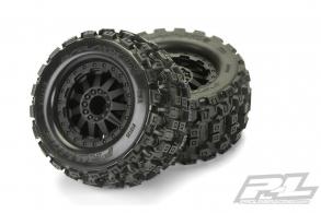 "Proline Колеса в сборе трак 1:10 - Badlands MX28 2.8"" с дисками F11"