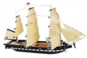 COBI Конструктор корабль USS CONSTITUTION