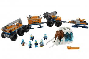 LEGO Игрушка Город Арктическая экспедиция Передвижная арктическая база