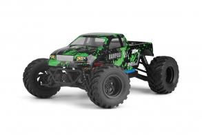 HBX Монстр трак 1:18 4WD Электро  - Rampage (1100мАч LiIon, влагозащита)