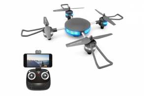HJ Toys Квадрокоптер - Lily mini (камера, передача видео по WiFi 480P, барометр)